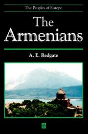 Cover of: The Armenians (Peoples of Europe) | A. E. Redgate