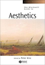 Cover of: Aesthetics