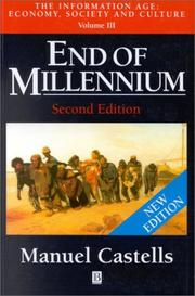 Cover of: End of millennium