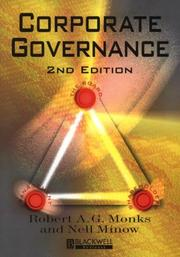 Cover of: Corporate Governance | Robert A. G. Monks, Nell Minow
