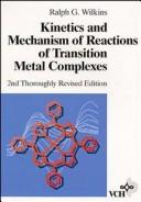 Kinetics And Mechanism Of Reactions Of Transition Metal Complexes, 2nd, Thoroughly Revised Edition