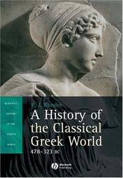Cover of: A History of the Classical Greek World