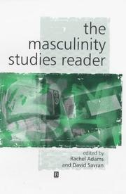 Cover of: The Masculinity Studies Reader (Key Works in Cultural Studies)