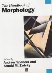 Cover of: The Handbook of Morphology | Arnold N. Zwicky