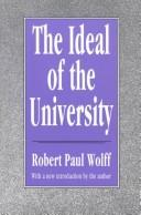 Cover of: The ideal of the university