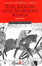 Cover of: The Saxon & Norman kings
