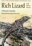 Cover of: Rich lizard | Deborah Chandra