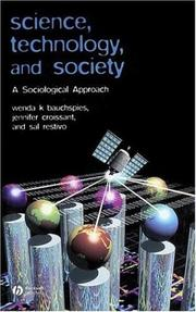 Cover of: Science, Technology, and Society | Wenda K. Bauchspies