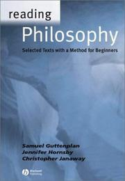 Cover of: Reading Philosophy | Samuel Guttenplan