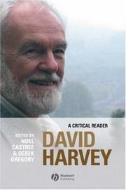 Cover of: David Harvey
