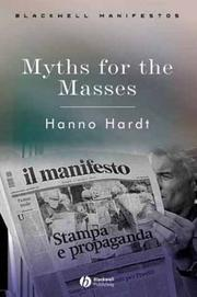 Cover of: Myths for the Masses