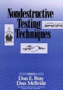 Cover of: Nondestructive testing techniques