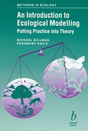 Cover of: An introduction to ecological modelling