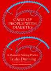 Care of people with diabetes by Trisha Dunning
