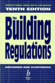 Cover of: The building regulations explained & illustrated