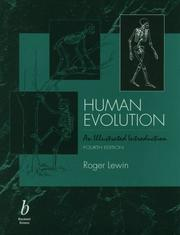 Cover of: Human evolution