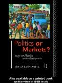 Cover of: Politics or markets?