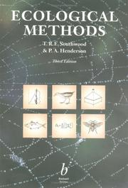 Cover of: Ecological Methods | Richard Southwood