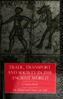 Cover of: Trade, transport, and society in the ancient world: a sourcebok