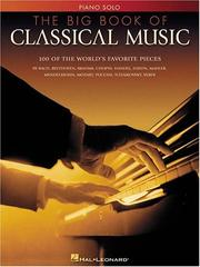 Cover of: The Big Book of Classical Music | Hal Leonard Corp.