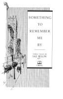 Cover of: Something to remember me by: three tales