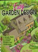 Cover of: Easy garden design