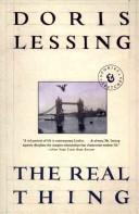 Cover of: The real thing | Doris Lessing