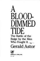 Cover of: A blood-dimmed tide