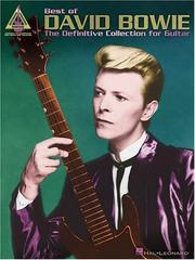 Cover of: Best of David Bowie
