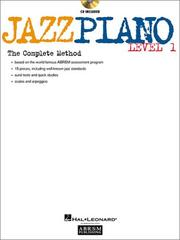 Cover of: Jazz Piano - Level 1 | Hal Leonard Corp.