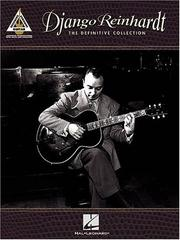 Cover of: Django Reinhardt - The Definitive Collection