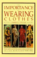 Cover of: importance of wearing clothes | Lawrence Langner
