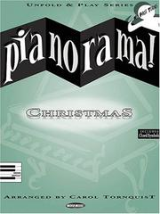 Cover of: Pianorama - Christmas (Pianorama! Unfold & Play) | Carol Tornquist