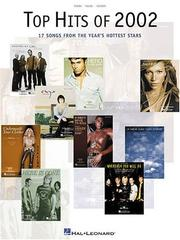 Cover of: Top Hits of 2002 | Hal Leonard Corp.