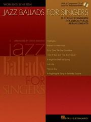 Cover of: Jazz Ballads for Singers - Women