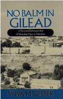 Cover of: No balm in Gilead