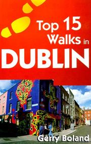 Cover of: Top 15 walks in Dublin