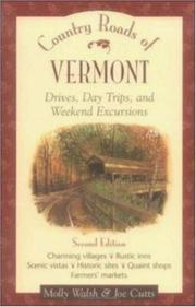 Cover of: Country roads of Vermont