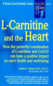 Cover of: L-carnitine and the heart
