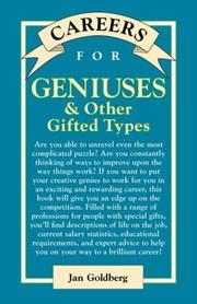 Cover of: Careers for Geniuses & Other Gifted Types
