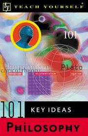 Cover of: Teach Yourself 101 Key Ideas | Paul Oliver