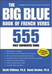 Cover of: The Big Blue Book of French Verbs: 555 Fully Conjugated Verbs