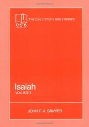Cover of: Isaiah