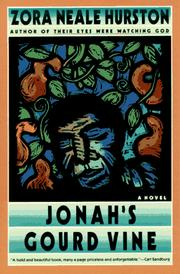 Cover of: Jonah's gourd vine: a novel
