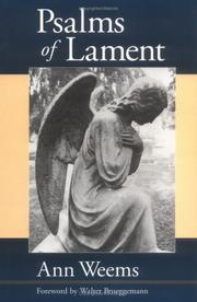 Cover of: Psalms of lament