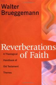 Cover of: Reverberations of Faith: A Theological Handbook of Old Testament Themes