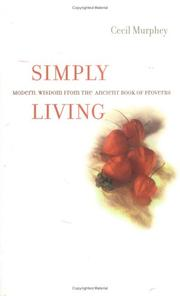 Cover of: Simply living | Cecil B. Murphey