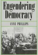 Cover of: Engendering democracy