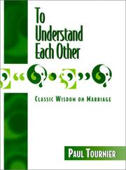 Cover of: To Understand Each Other | Michel Tournier