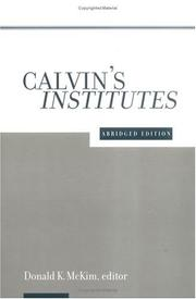 Cover of: Calvin